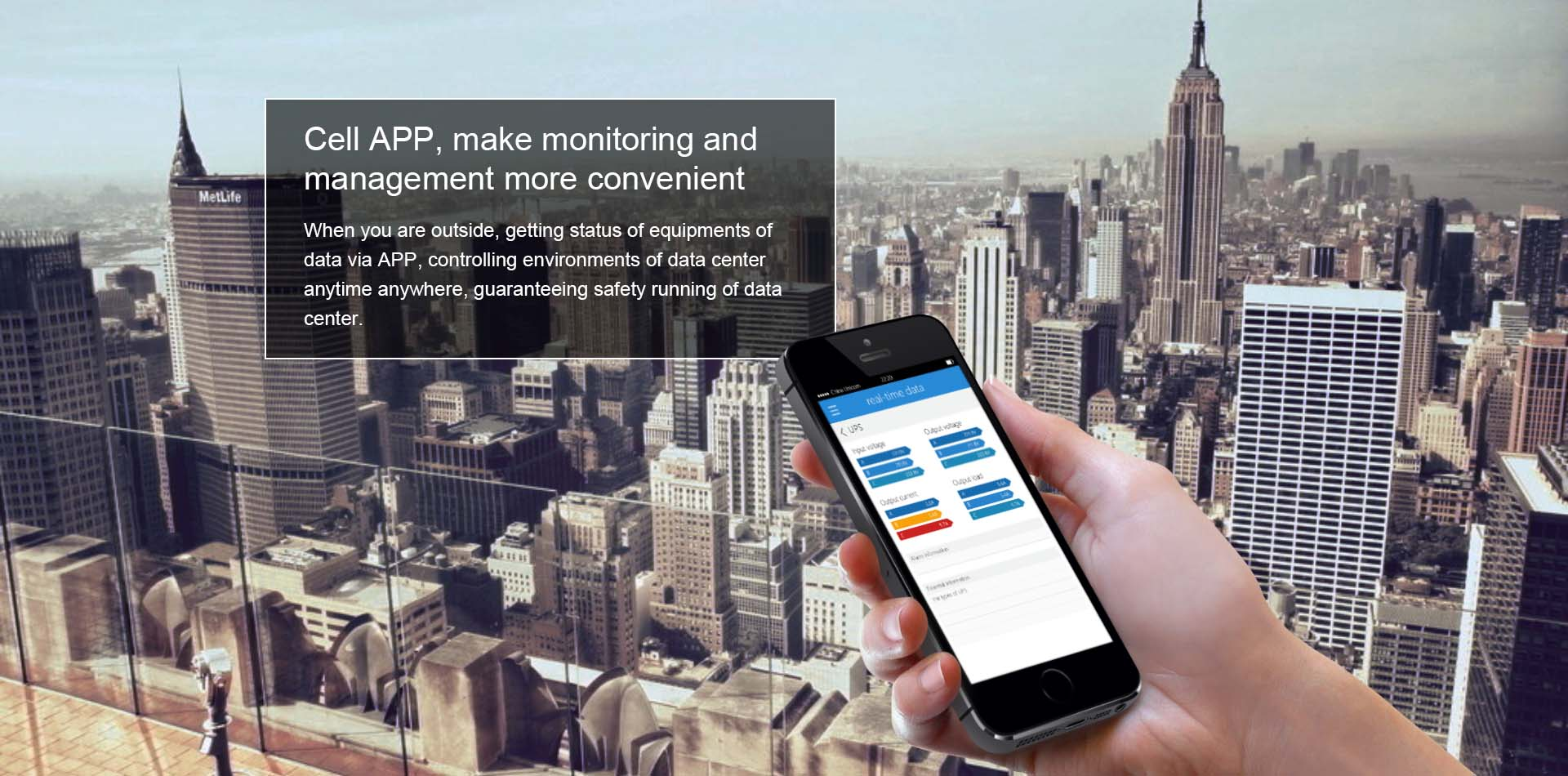 Cell APP,make monitoring and management more convenient